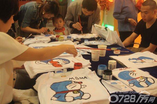 幼儿园手绘体恤图片