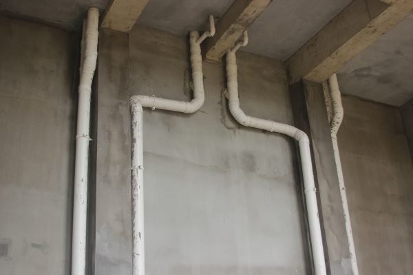 南国明珠安装的下水管道