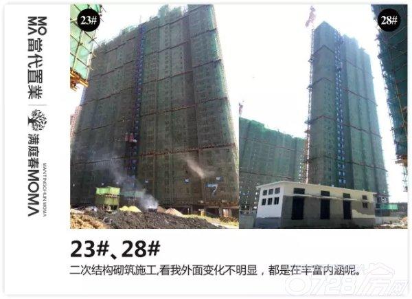 满庭春MOMΛ 9月第一周工程进度播报!