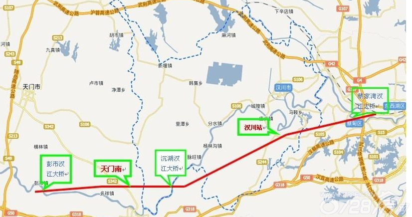 仙桃东站规划